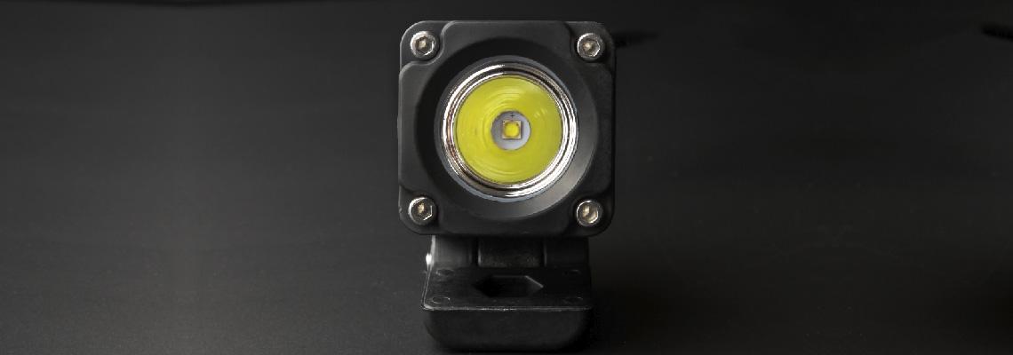 Обзор и тестирование светодиодной фары 10 Ватт