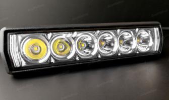 Светодиодная LED фара дальнего света 18Ватт