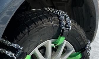 Браслеты на колёса на внедорожнике