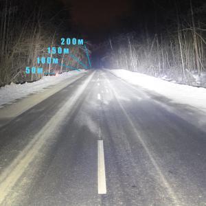 Светодиодная балка водительский свет 288Ватт, 127см