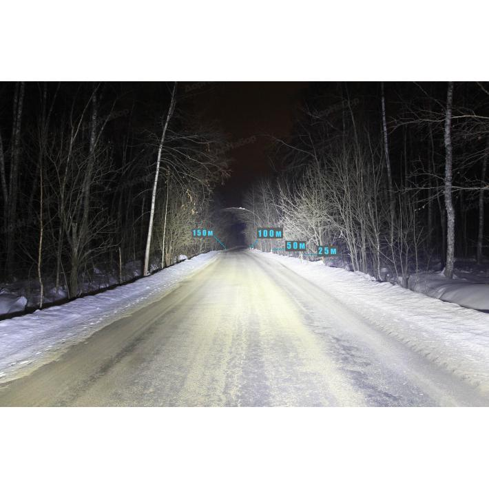 Однорядная балка направленный свет 100Ватт, 53.6см