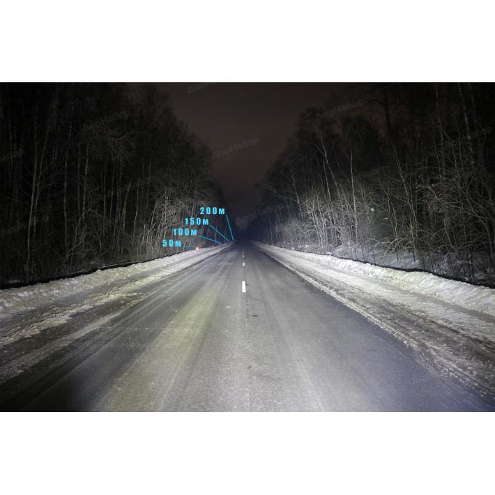 Однорядная балка рассеянный свет 60Ватт, 35см