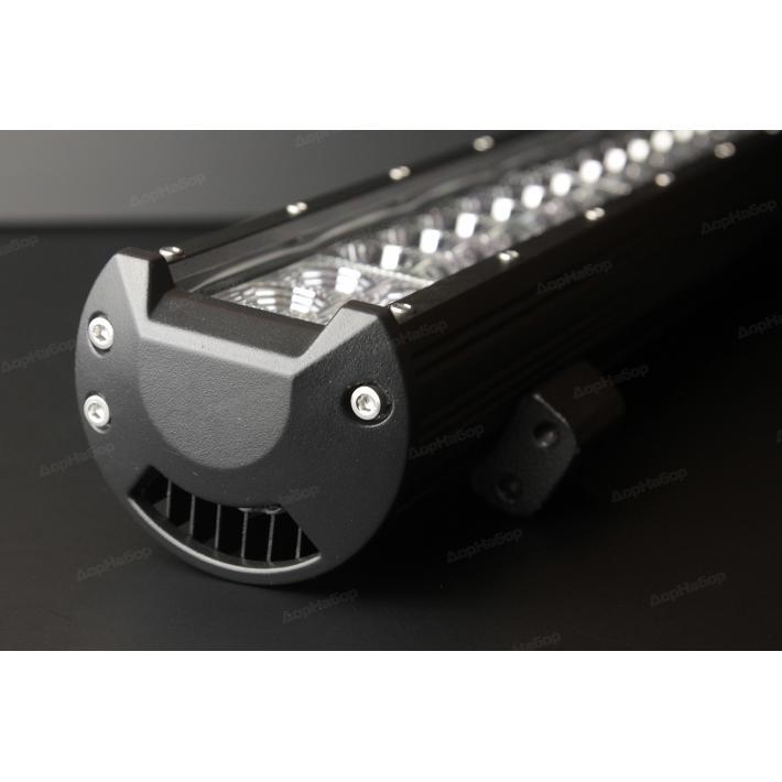 Двухрядная балка комбинированный свет 126Ватт, 50.5см