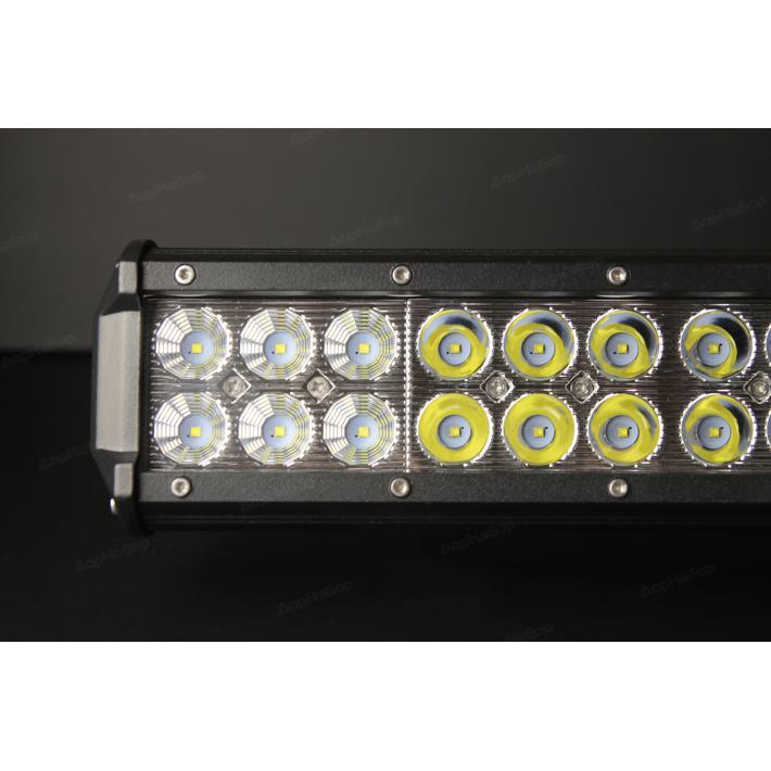 Двухрядная балка комбинированный свет 72Ватт, 30см