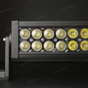 Двухрядная панорамная (изогнутая) балка комбинированный свет 288Ватт, 127см