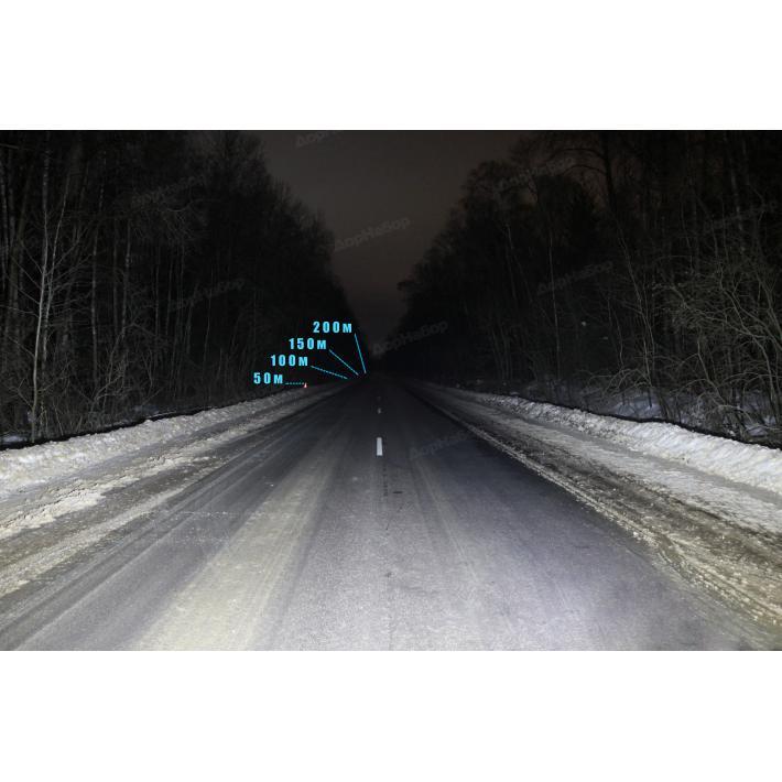 Однорядная балка рассеянный (рабочий)  свет 36Ватт, 18.6см