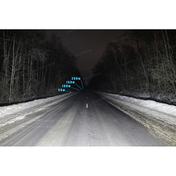 Однорядная балка рассеянный (рабочий) свет 60Ватт, 29см