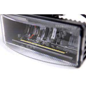 Светодиодные фары ближнего света прямоугольные 52 Вт (комплект)