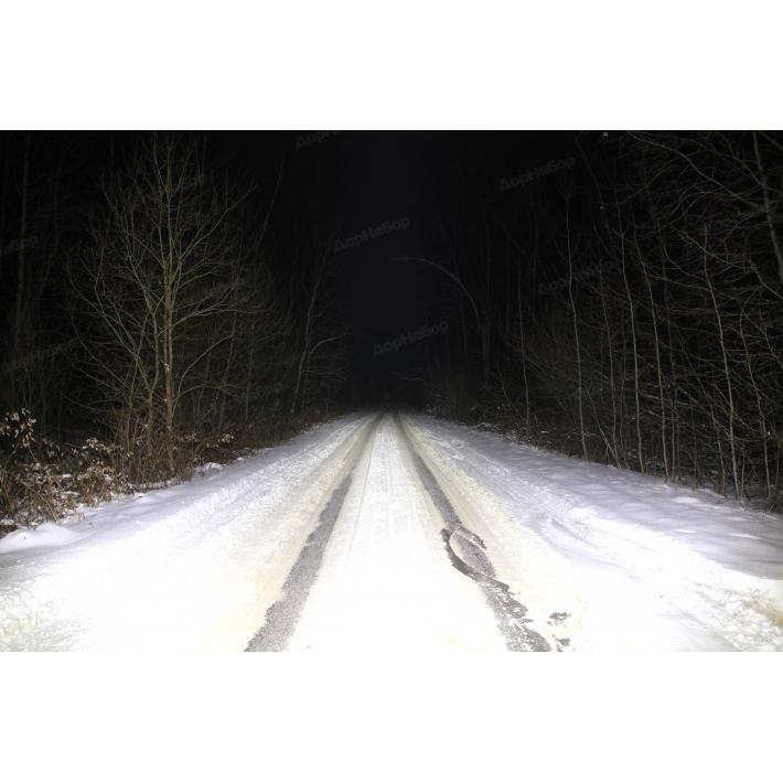 Светодиодная фара 30Ватт комбинированный свет