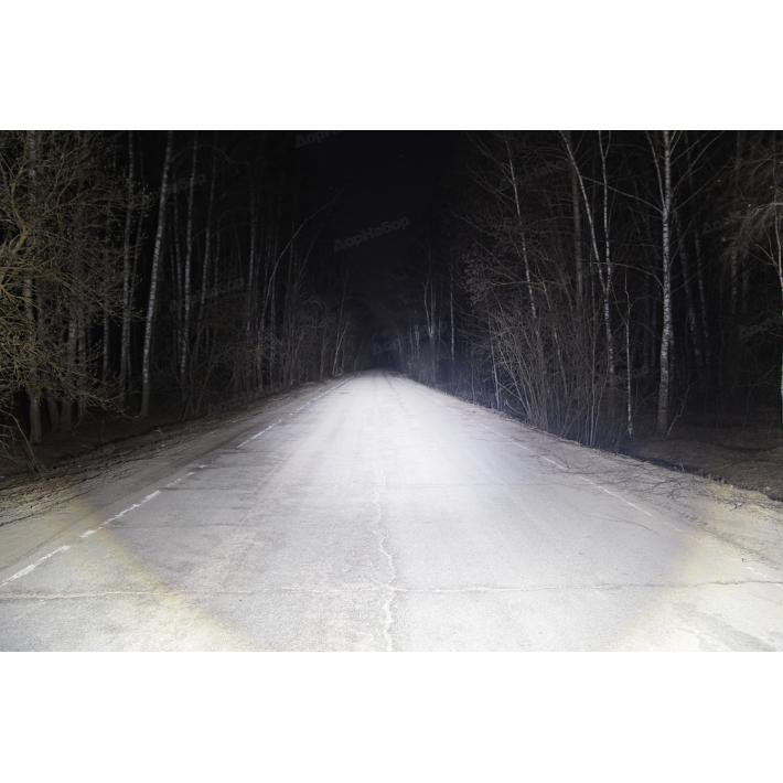 Фара 5 диодов 50W дальний свет