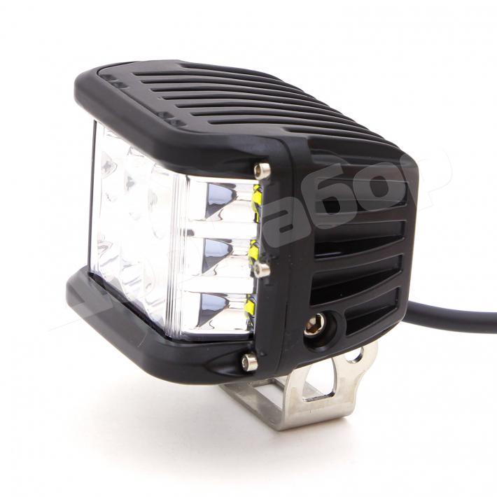 Комплект фар 90Ватт, дальний свет + освещение обочины