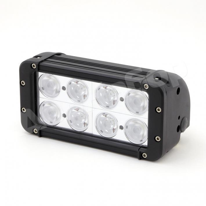 Фара 8 диодов 80W комбинированный свет